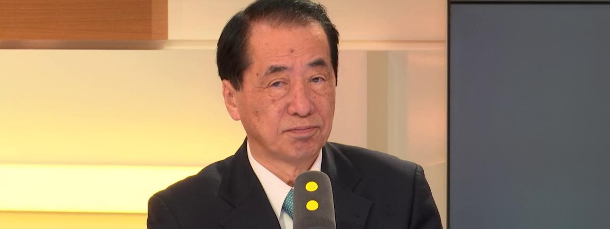 Naoto Kan, Premier minisitre du Japon de 2010 à 2011, sur franceinfo le 12 mars 2018.