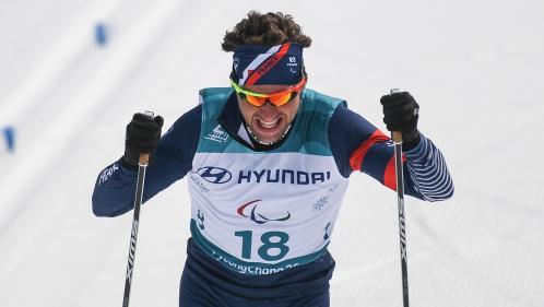 Jeux paralympiques : Benjamin Daviet remporte l'or au biathlon, sa troisième médaille de la compétition
