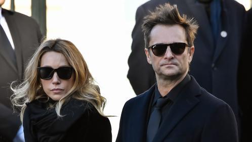 """Héritage de Johnny Hallyday : Laura et David réclament un droit de regard sur l'album de leur père sous """"48 heures"""""""