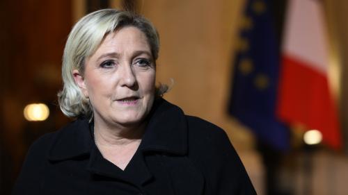 Législative partielle à Mayotte : pour la première fois, Marine Le Pen appelle à voter pour un candidat LR