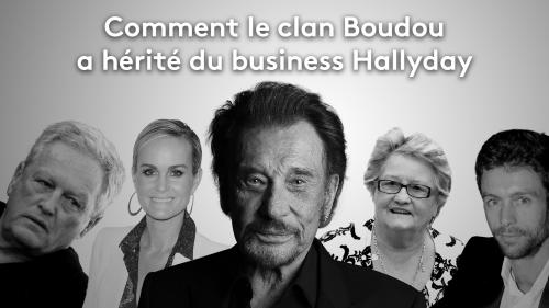 RECIT. Succession de Johnny : comment le clan Boudou a hérité du business Hallyday
