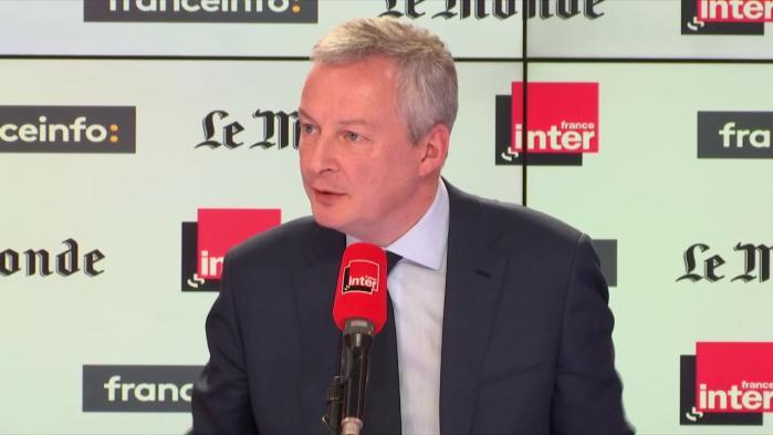 """VIDEO. SNCF: face à la grève des cheminots, """"oui, nous tiendrons"""", assure Bruno Le Maire"""