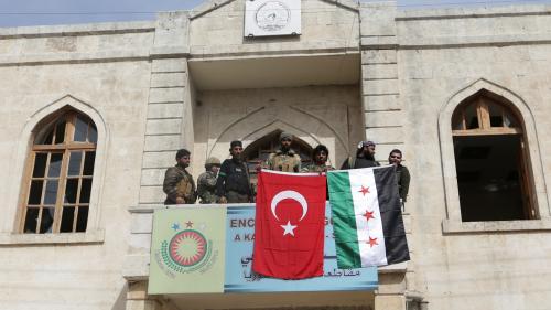 Syrie : les forces turques prennent la ville d'Afrine aux Kurdes