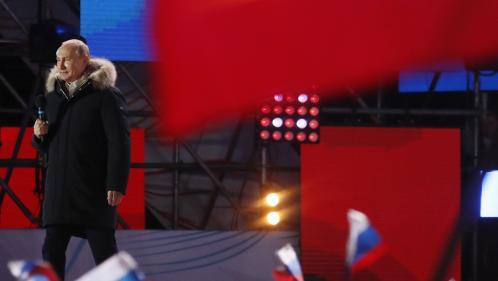 Présidentielle en Russie : Vladimir Poutine réélu pour un quatrième mandat avec plus de 75% des voix