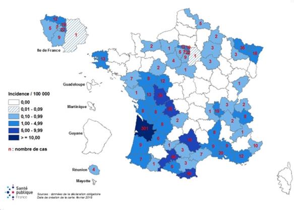 22 wilayas désormais touchées — Epidémie de rougeole