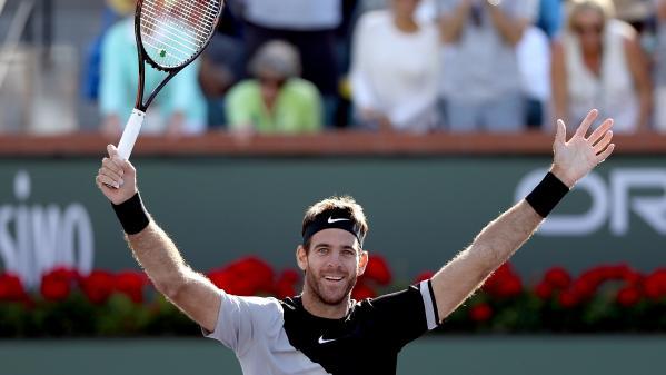 Tennis : Juan Martin del Potro inflige sa première défaite de l'année à Roger Federer en finale du Masters 1000 d'Indian Wells