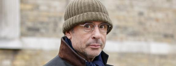 Alexandre Djouhri, le 13 janvier 2018, à Londres.