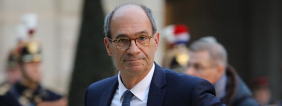 Eric Woerth, le 30 janvier 2018, à Paris.
