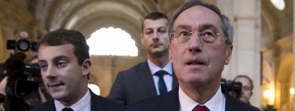 Claude Guéant, le 13 novembre 2015, à Paris.