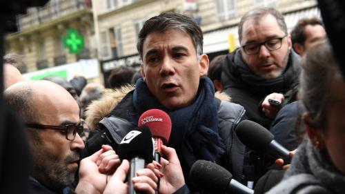 DIRECT. Grève : le futur patron du PS, Olivier Faure, hué à la manifestation des cheminots à Paris