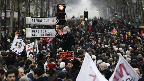 DIRECT. Manifestations à Paris : 47 800 personnes ont défilé dans la capitale, selon notre décompte indépendant