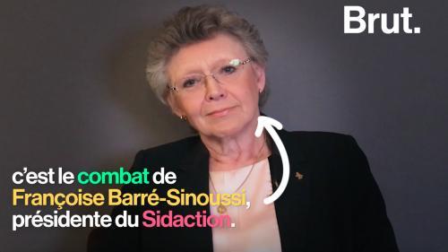"""Françoise Barré-Sinoussi, présidente de Sidaction : """"On ne guérit pas du sida"""""""