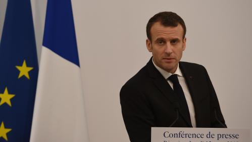 La popularité d'Emmanuel Macron est au plus bas depuis son entrée en fonction, selon un sondage