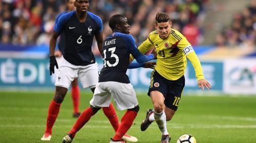 Football : à trois mois de la Coupe du monde, la France s'incline face à la Colombie (3-2)