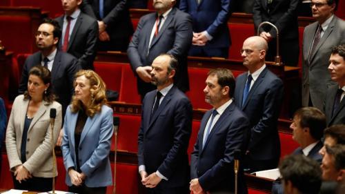 REPLAY. Regardez l'hommage rendu par Edouard Philippe aux victimes des attaques dans l'Aude à l'Assemblée nationale