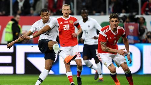 Foot : les Bleus se rassurent en s'imposant face à la Russie (3-1)