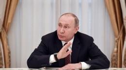 Le président russe, Vladimir Poutine, à Moscou, le 19 mars 2018.