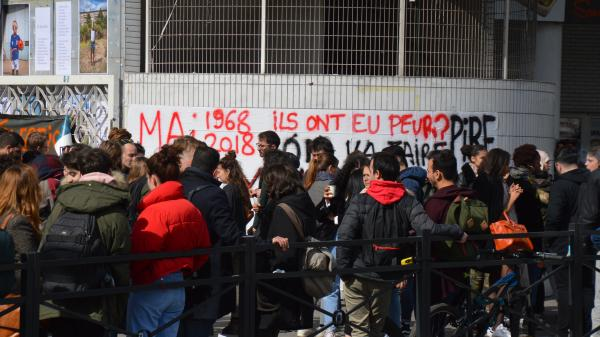 Université : grogne des étudiants contre la réforme
