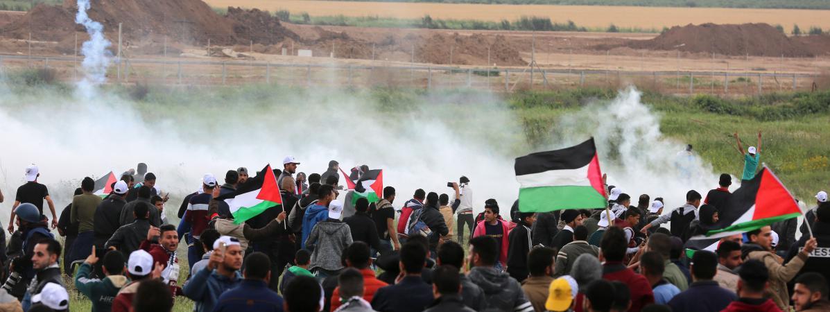 Seize Palestiniens Tues Lors De La Marche Du Grand Retour On