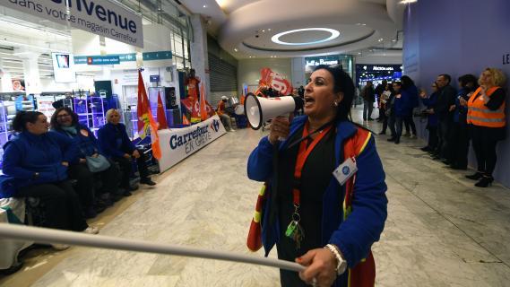 Carrefour gr ve exceptionnelle dans les magasins - Eco prime carrefour ...