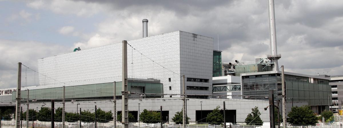 La déchetterie Syctom-Tiru, à Ivry-sur-Seine (Val-de-Marne), le 9 juin 2012. (Photo d'illustration)