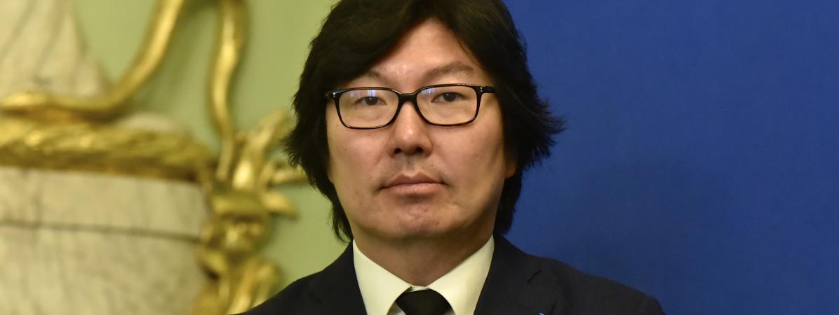L\'ancien secrétaire d\'Etat Jean-Vincent Placé, le 20 février 2017 à Paris.
