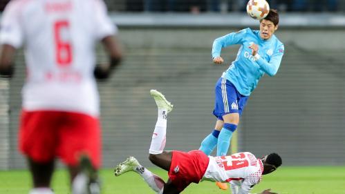 L'OM s'incline 1-0 sur la pelouse de Leipzig en quart de finale aller de la Ligue Europa