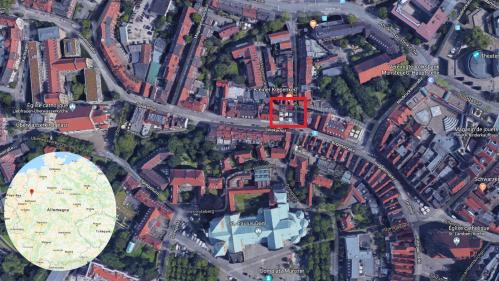 CARTE. Münster : les lieux où le véhicule a terminé sa course