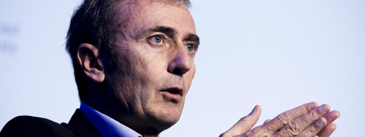 Brice Teinturier, le directeur général d'Ipsos France, le 4 octobre 2017.