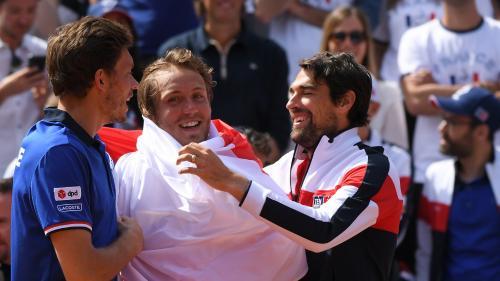 Coupe Davis : Lucas Pouille fait craquer Fognini et qualifie la France pour les demi-finales