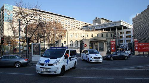 Marseille : le plafond s'effondre sur une fillette et son père, aux urgences pédiatriques de l'hôpital