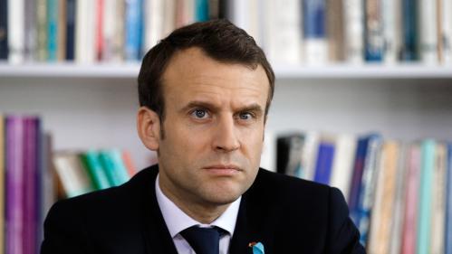 Dans les Vosges, Emmanuel Macron mixe Europe et ruralité
