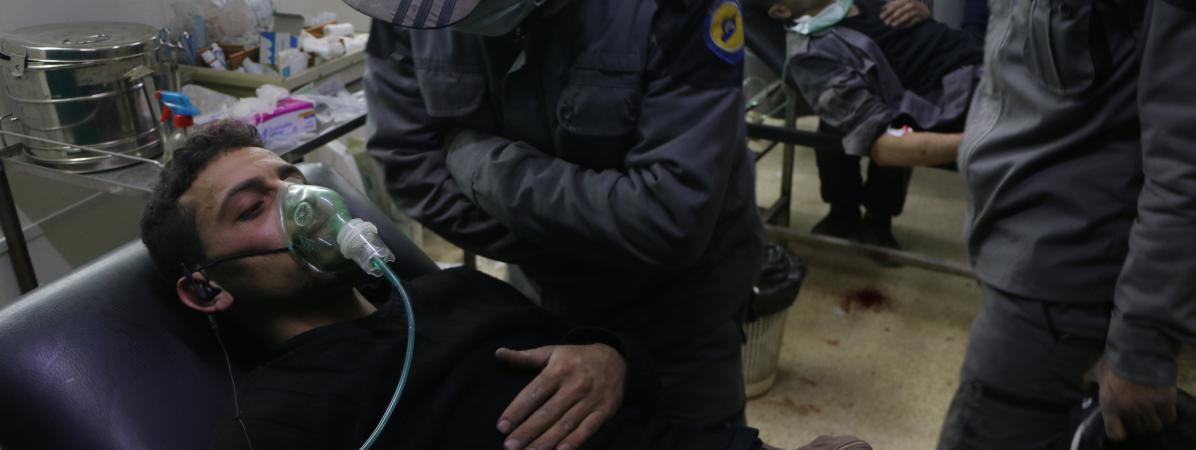 Syrie quatre questions sur la nouvelle attaque aux armes for Attaque a la maison blanche