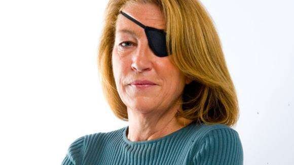 "Marie Colvin, journaliste au ""Sunday Times\""."