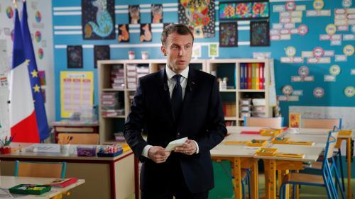 """REPLAY. Emmanuel Macron dans le """"13 heures"""" de TF1 : revivez l'interview en intégralité"""