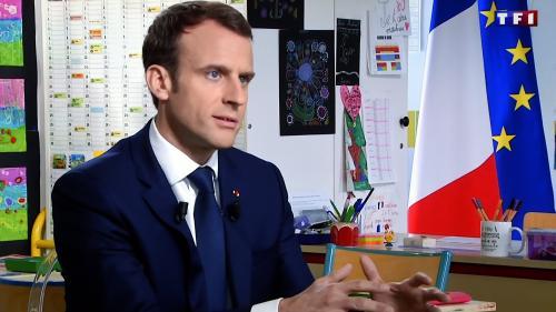 """VIDEO. La SNCF restera """"une entreprise publique, à capitaux 100% publics"""", promet Emmanuel Macron"""