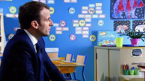 """VIDEO. Emmanuel Macron promet d'exonérer """"la totalité des Français"""" de la taxe d'habitation d'ici 2022"""