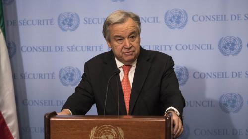 """Syrie : le secrétaire général de l'ONU exhorte le Conseil de sécurité à éviter une situation """"hors de contrôle"""""""