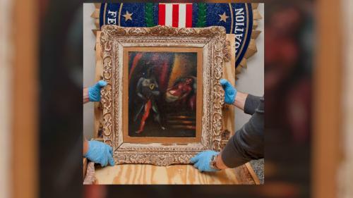 Etats-Unis : une toile de Marc Chagall retrouvée près de 30 ans après avoir été volée