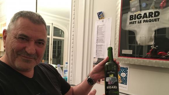 Jean-Marie Bigard à Paris, mercredi 10janvier 2018