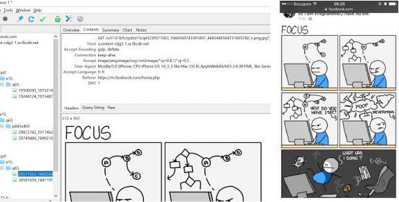 A gauche, la fenêtre de contrôle du logiciel espion utilisé par Vincent Nguyen. A droite, la page consultée sur le mobile par la victime. Les données sont accessibles.