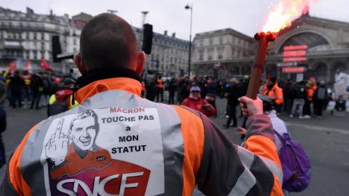 Grève à la SNCF : 55% des Français trouvent le mouvement injustifié, selon un sondage