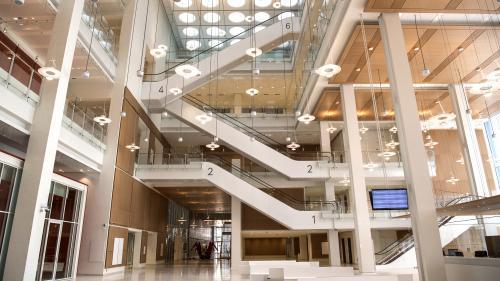 EN IMAGES. Visitez le nouveau (et lumineux) palais de justice de Paris