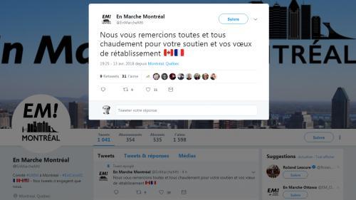 Des militants LREM agressés par des personnes cagoulées, dans un restaurant de Montréal
