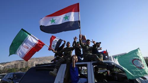 VIDEO. Scènes de protestation et Al-Assad détendu : Damas répond par la guerre des images aux missiles occidentaux