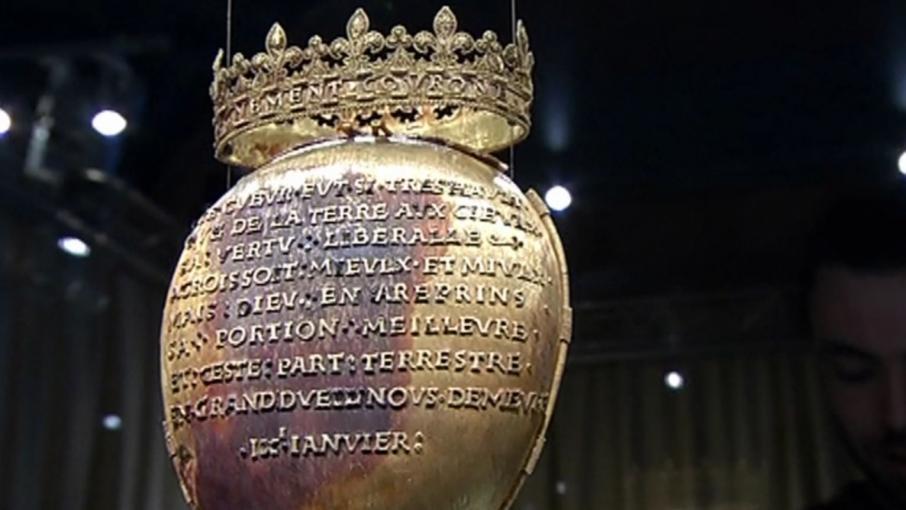Bretagne qui a vol le c ur d 39 anne de bretagne for Coeur couronne et miroir apollinaire