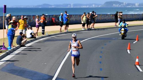 VIDEO. Jeux du Commonwealth: en tête du marathon, l'Écossais Callum Hawkins s'effondre à deux kilomètres de l'arrivée