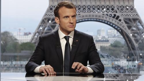"""VIDEO. Frappes en Syrie : """"Nous avons la pleine légitimité pour agir"""", justifie Emmanuel Macron après l'intervention française"""