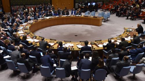 À l'ONU, la Russie échoue à faire condamner les frappes occidentales en Syrie