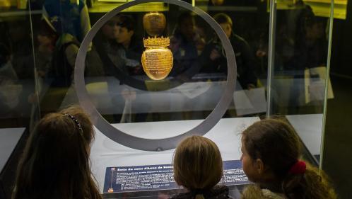"""Vol de l'écrin en or du cœur d'Anne de Bretagne : une association évoque la possibilité d'une """"rançon"""""""